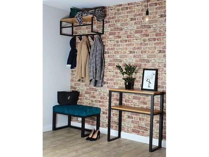 Ławka Pikowana Industrialna CLASSIC LOREN - LOFT Pomieszczenie Przedpokój Pomieszczenie Salon