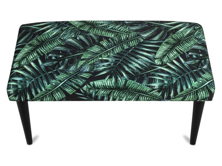 Ławka tapicerowana PALM Kolor Zielony