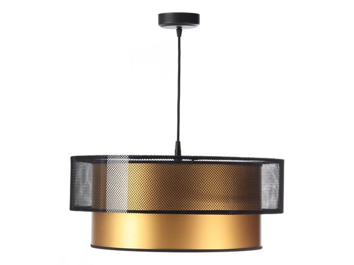 Designerska lampa wisząca Beth Miedziany Lampa LED Lampa z abażurem Tworzywo sztuczne Metal Kolor Złoty