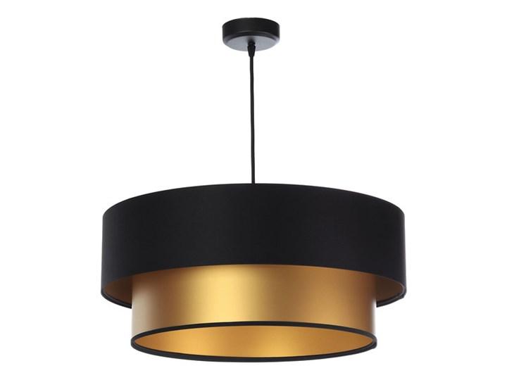 Lampa wisząca z satynowym abażurem Beth Satin Miedziany Tworzywo sztuczne Kategoria Lampy wiszące Lampa LED Lampa z abażurem Metal Ilość źródeł światła 1 źródło
