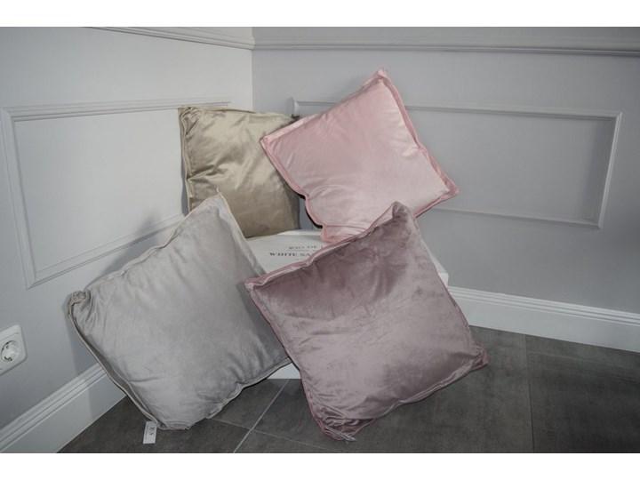 Poduszka aksamit Glamour Poduszka dekoracyjna 46x46 cm Kwadratowe Pomieszczenie Salon