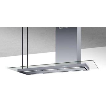 Okap wyspowy Metropolis Glass Inox 146 cm
