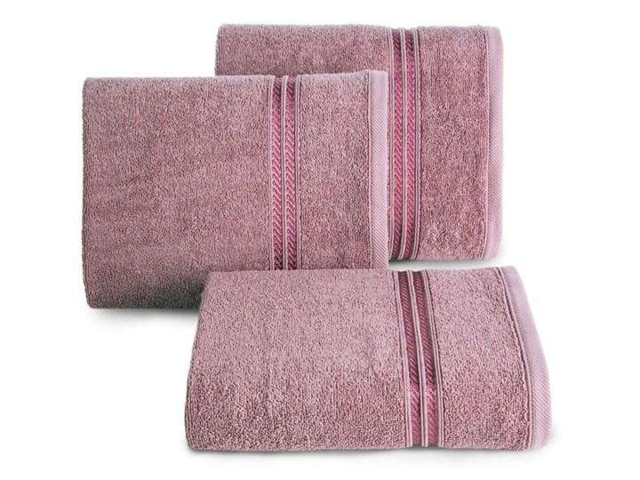 Ręcznik 70X140 Eurofirany LORI lila 450g/m2