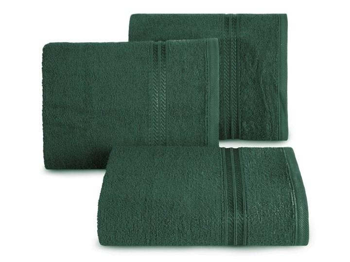 Ręcznik 70X140 Eurofirany LORI ciemna zieleń 450g/m2