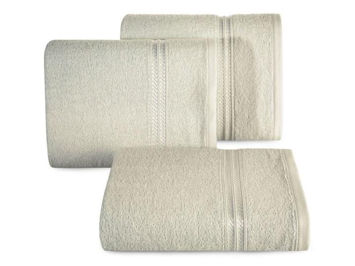 Ręcznik 50X90 Eurofirany LORI beż 450g/m2