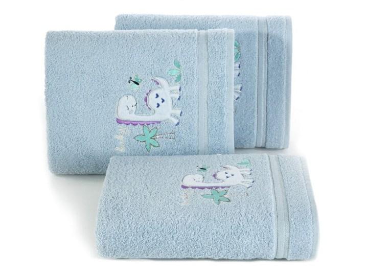 Ręcznik dziecięcy 70x40 Eurofirany Baby 30 dinozaur niebieski 450g/m2