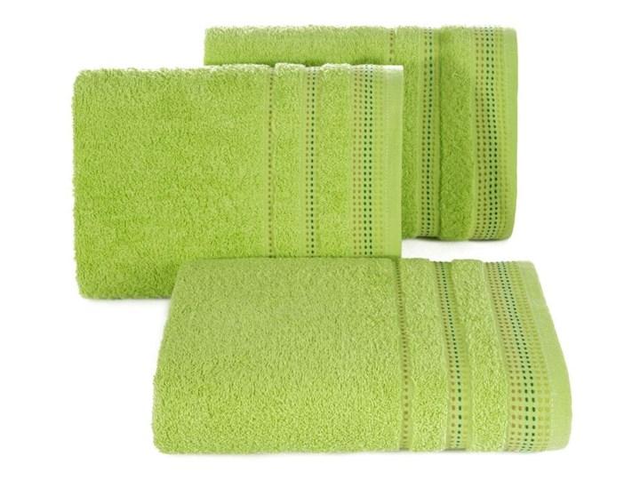 Ręcznik hotelowy 70x140 Eurofirany Pola sałata 500 g/m2