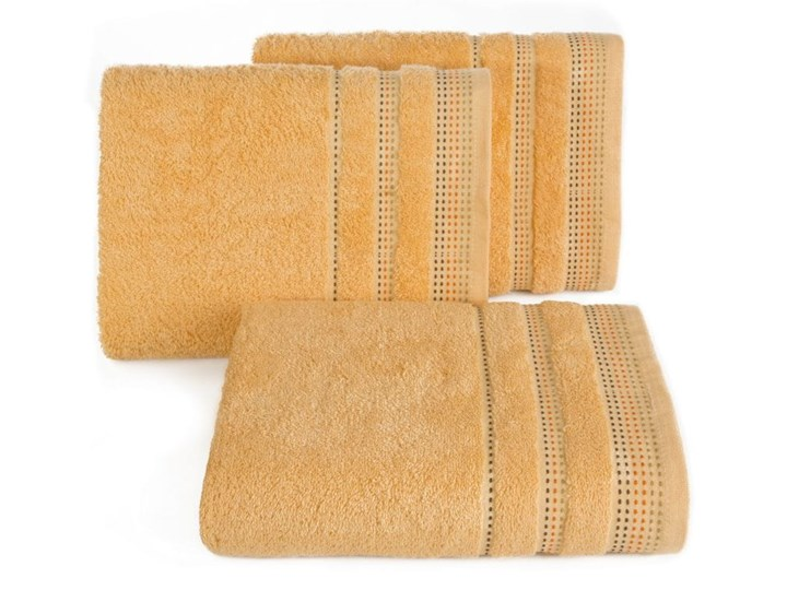 Ręcznik hotelowy 30x50 Eurofirany Pola morelowy 500 g/m2