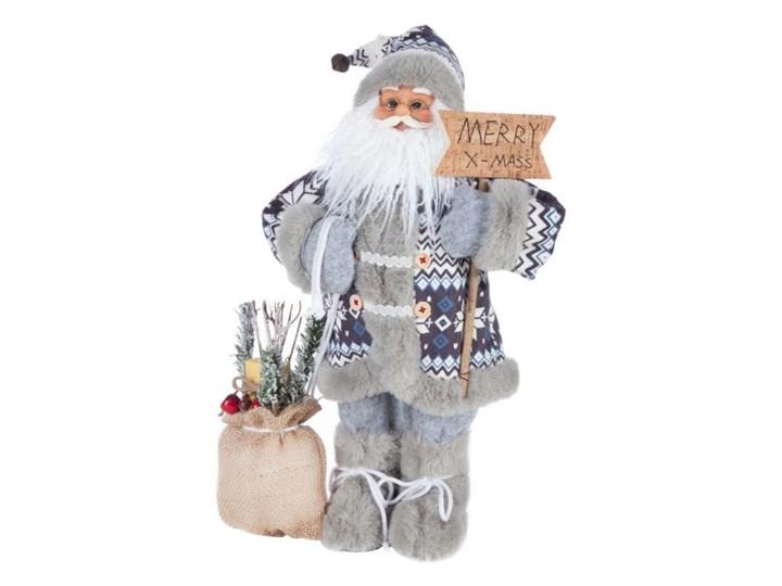 Figurka świąteczna Mikołaj 45 cm Eurofirany