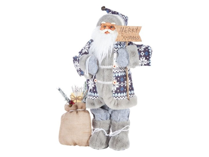 Figurka świąteczna Mikołaj 60 cm Eurofirany
