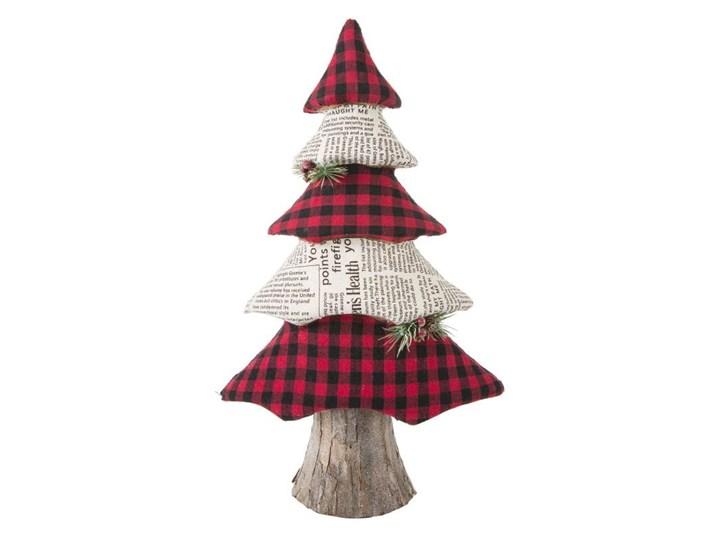Figurka świąteczna Choinka w stylu eko 50 cm Eurofirany