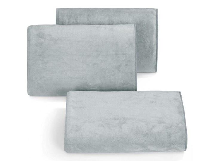 Ręcznik szybkoschnący z mikrofibry 50X90 Eurofirany Amy 380 g/m2 stalowy