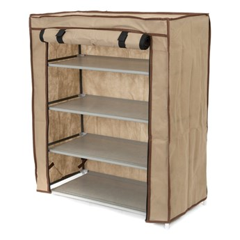 Beżowy organizer tekstylny na buty Compactor Shoes