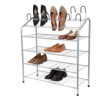 4-poziomowy regał na buty z nakładkami Compactor
