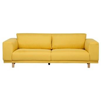 Sofa 3-osobowa żółta NIVALA kod: 4251682207188
