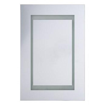 Szafka łazienkowa wisząca z lustrem LED 40 x 60 cm biała MALASPINA kod: 4251682244497