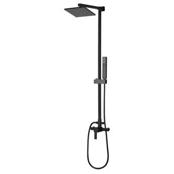 Kolumna prysznicowa z deszczownicą czarna TAGBO kod: 4251682241625