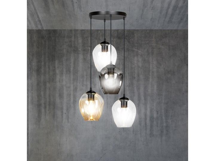 ISTAR 4 BL PREMIUM MIX lampa wisząca żyrandol nowoczesny szklane klosze NOWOŚĆ Lampa LED Lampa z kloszem Styl Klasyczny Szkło Metal Kategoria Lampy wiszące