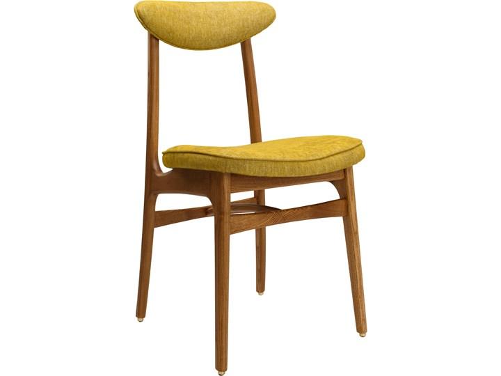 Krzesło 200-190 Loft Mustard, proj. R. T. Hałas Szerokość 45 cm Tkanina Wysokość 46 cm Drewno Kolor Żółty Krzesło inspirowane Głębokość 52 cm Tapicerowane Wysokość 83 cm Styl Industrialny