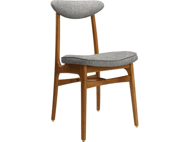 Krzesło 200-190 Loft Silver, proj. R. T. Hałas Drewno Tkanina Wysokość 46 cm Krzesło inspirowane Wysokość 83 cm Głębokość 52 cm Szerokość 45 cm Tapicerowane Styl Industrialny