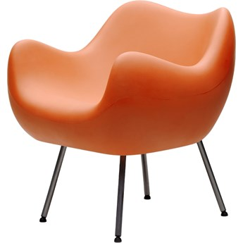 Fotel RM58 Matte, proj. R. Modzelewski (pomarańczowy)