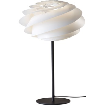 Lampa stołowa Swirl biała, proj. Ø. Slaatto, Le Klint