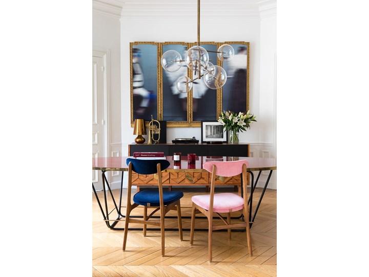 Krzesło 200-190 Tweed Grey, proj. R. T. Hałas Wysokość 83 cm Tapicerowane Drewno Głębokość 52 cm Tkanina Kolor Szary Krzesło inspirowane Wysokość 46 cm Szerokość 45 cm Kategoria Krzesła kuchenne