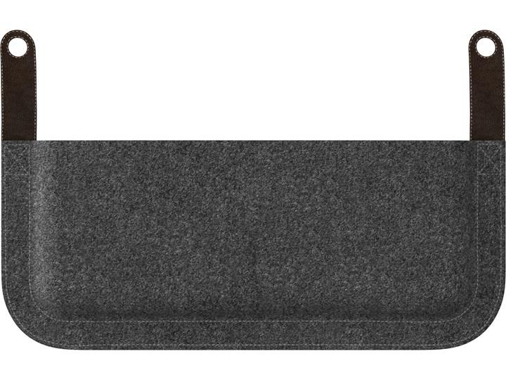 Kieszeń do sofy The Lounge Around, proj. S. R. Christensen, UMAGE Skóra Metal Stal Drewno Tkanina Kategoria Gazetniki
