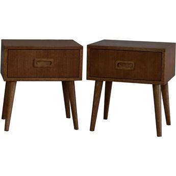 Para szafek nocnych Runo, Pastform Furniture