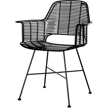 Krzesło Tub czarne, HKliving