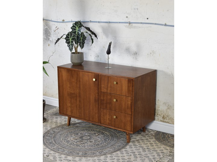 Komoda Vina 100, Pastform Furniture Drewno Głębokość 45 cm Wysokość 75 cm Szerokość 100 cm Styl Nowoczesny Kategoria Komody