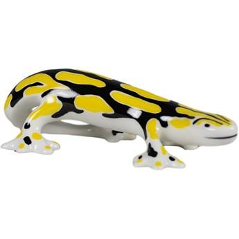 Figurka porcelanowa Jaszczur duży, proj. H. Orthwein, AS Ćmielów