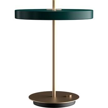 Lampa stołowa Asteria Forest Green, proj. S. R. Christensen, UMAGE