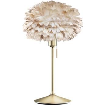 Lampa stołowa Eos Champagne Ø35 jasny brąz i mosiądz, proj. S. R. Christensen, UMAGE
