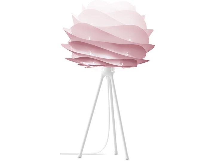 Lampa stołowa Carmina Tripod S różowa, proj. S. R. Christensen i A. Klem, UMAGE Wysokość 50 cm Kolor Różowy Lampa z abażurem Styl Skandynawski