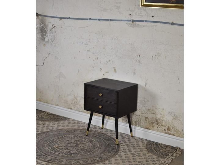 Para szafek nocnych Blackie  , Pastform Furniture Metal Styl Skandynawski Drewno Płyta MDF Styl Glamour