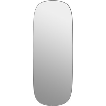 Lustro Framed L szare/czyste szkło, proj. Anderssen  Voll, Muuto