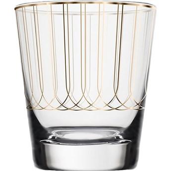 Świecznik na tealight First Gold 004, proj. M. Młoczkowski, VOLA