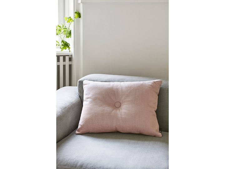 Poduszka Dot I Tint 60x45 cm pomarańczowa, HAY 45x45 cm Pomieszczenie Salon Bawełna 45x60 cm Poduszka dekoracyjna Prostokątne Kolor Beżowy