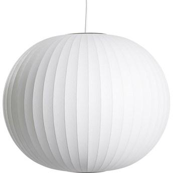 Lampa wisząca Nelson Ball M biały, proj. G. Nelson, HAY
