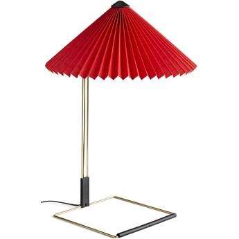 Lampa stołowa Matin L Ø380 jasno czerwony, proj. I. Sempé, HAY