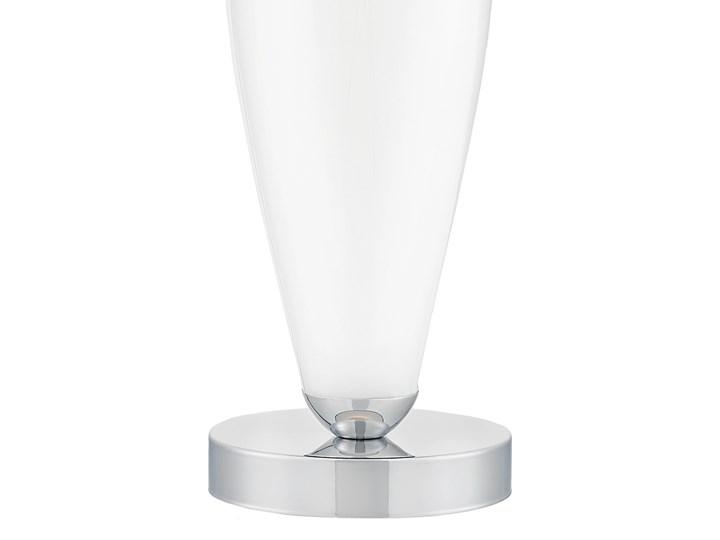 Lampa stołowa Rea chrom/biały, Kaspa Wysokość 60 cm Styl Klasyczny Lampa z kloszem Lampa LED Kategoria Lampy stołowe
