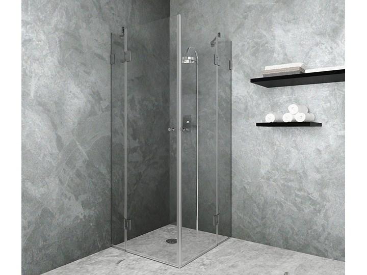 Kabina prysznicowa Jade Kwadratowa Rodzaj drzwi Uchylne