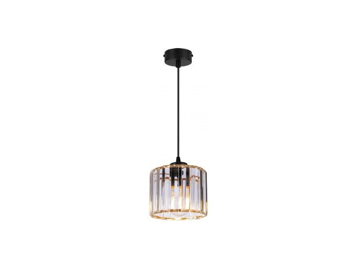 Regulowana Lampa Wisząca ze Szklanym Kloszem Szkło Lampa z kloszem Kategoria Lampy wiszące Metal Kolor Szary
