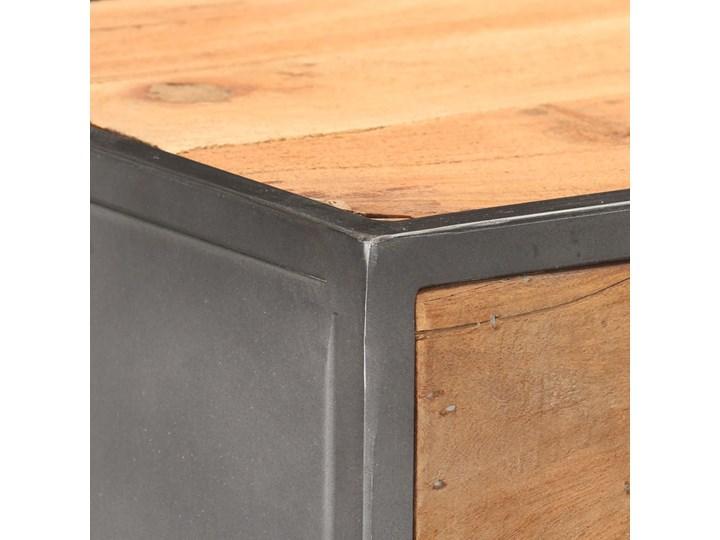 vidaXL Komoda, 45x30x100 cm, lite drewno z odzysku Szerokość 45 cm Szerokość 105 cm Głębokość 30 cm Kolor Beżowy Kategoria Komody