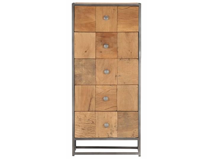 vidaXL Komoda, 45x30x100 cm, lite drewno z odzysku Głębokość 30 cm Szerokość 45 cm Szerokość 105 cm Kategoria Komody