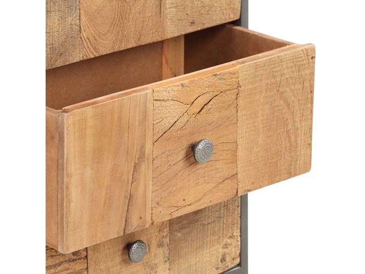 vidaXL Komoda, 45x30x100 cm, lite drewno z odzysku Szerokość 45 cm Głębokość 30 cm Kolor Beżowy Szerokość 105 cm Kategoria Komody