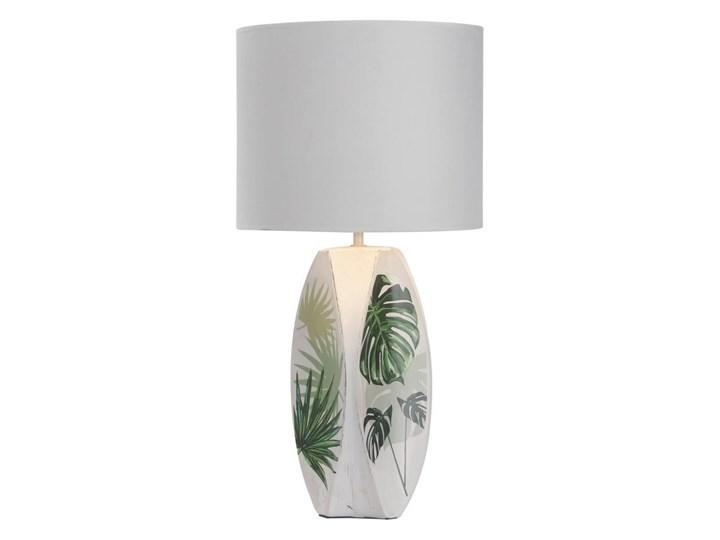 Lampa stołowa PALMA 1xE27/60W/230V Wysokość 59 cm Lampa z abażurem Kolor Biały