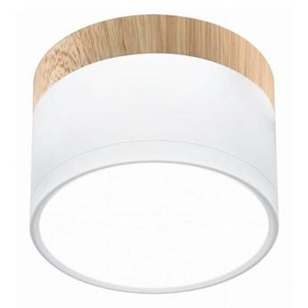 LED Plafon TUBA LED/9W/230V biały/beżowy