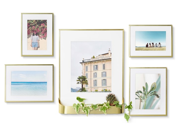 Ramki na zdjęcia Matinee (5-set) złote Kategoria Ramy i ramki na zdjęcia